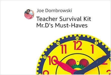 Teacher Survival Kit Mr. D's Must Haves