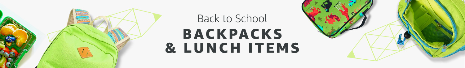 Backpacks & Lunch Bags