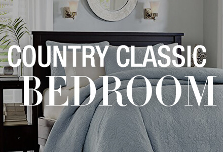 Country Classic Bedroom