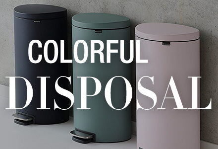 Colorful Disposal