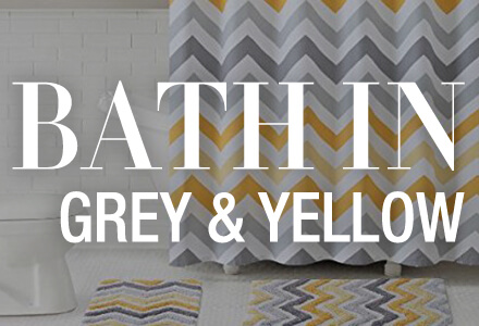 Bath Yellow Grey