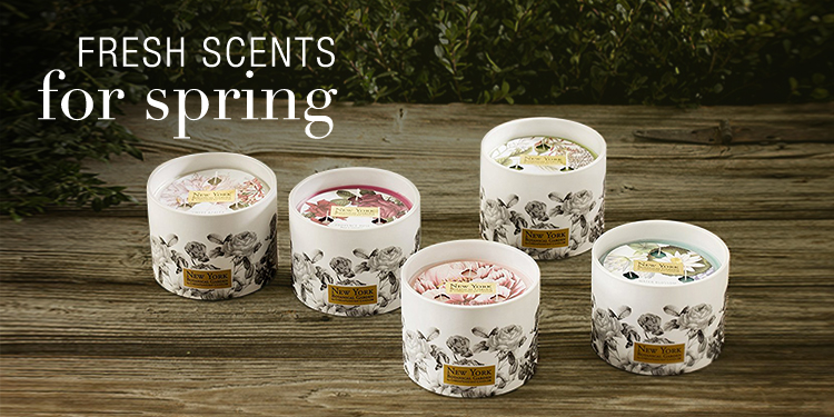 Fresh Scents for Spring