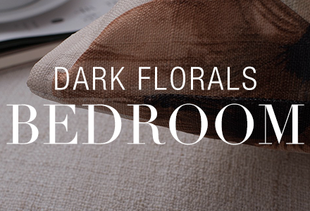 Dark Florals Bedroom