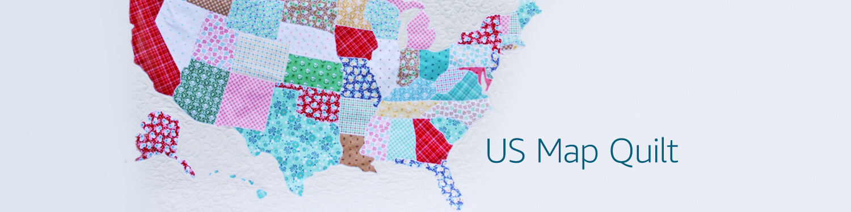 Amazoncom USMapQuilt Arts Crafts Sewing