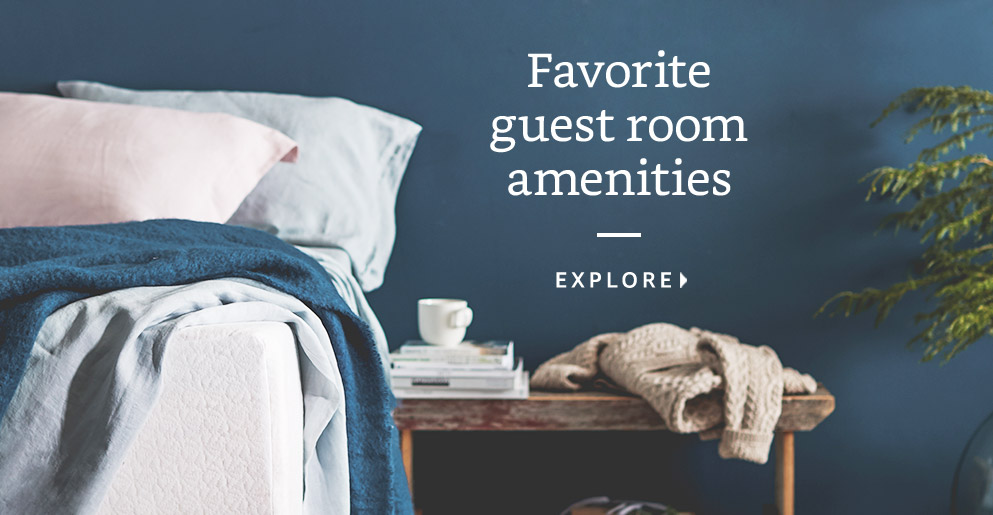 Favorite guest room amenities