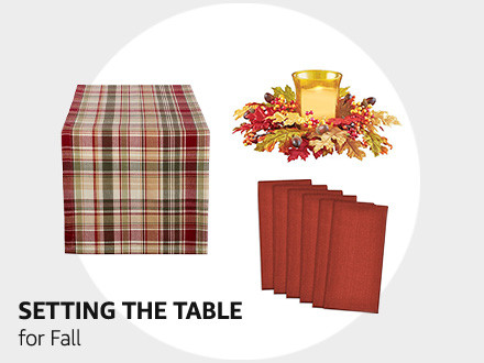 Setting the table for Fall
