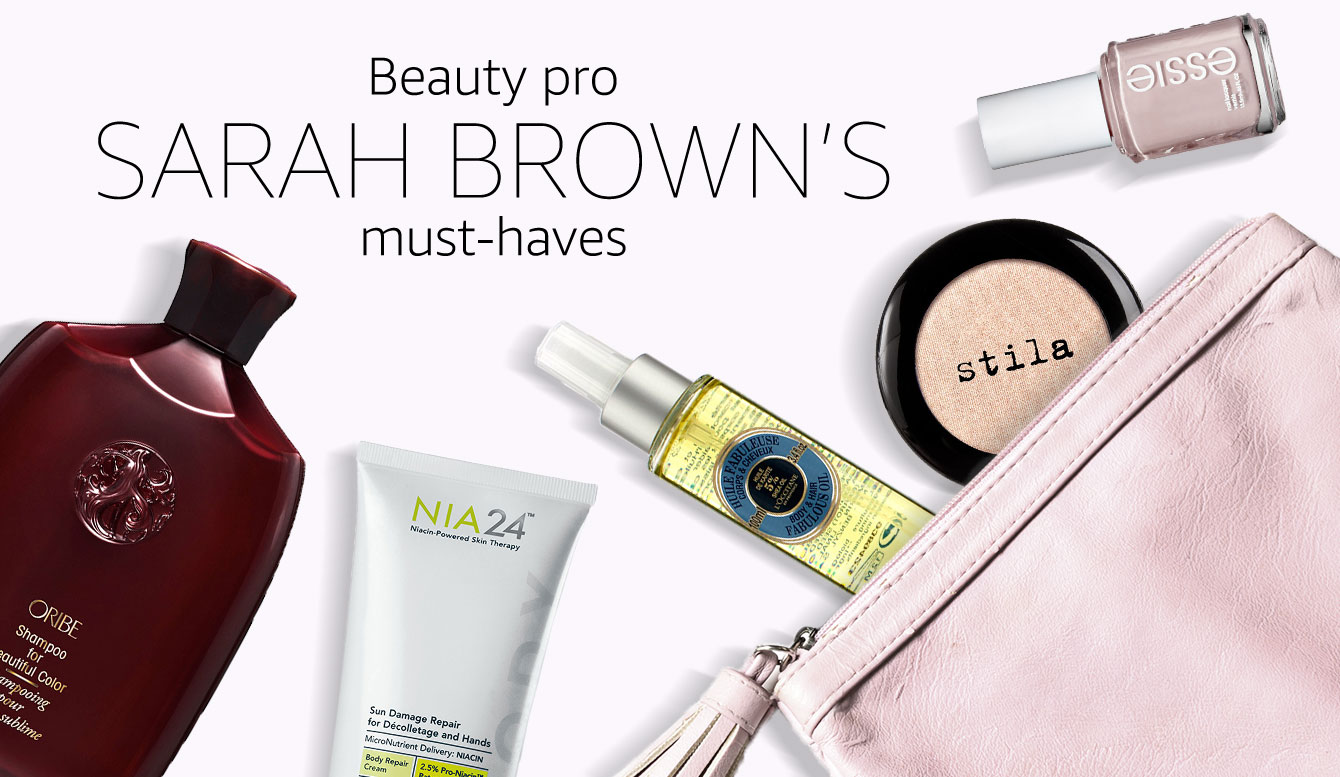 Sarah Brown's must-haves