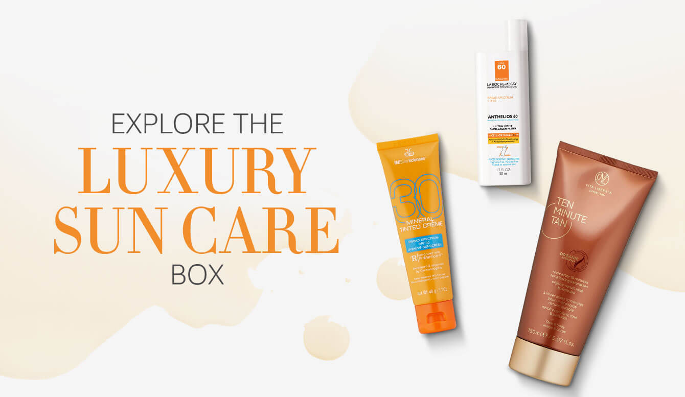 Sun Care Sample Box