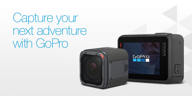 Capture your next adventure with GoPro