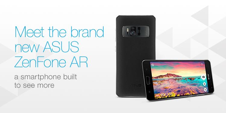 Meet the brand new ASUS ZenFone AR