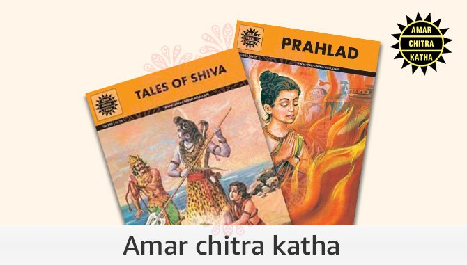 Books from Amar Chitra Katha
