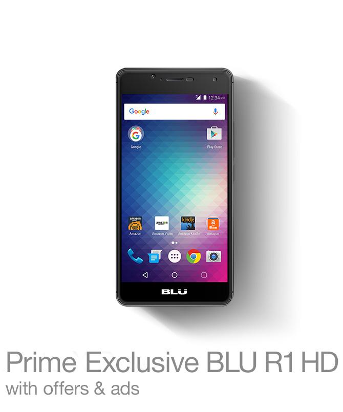 Prime Exclusive BLU R1 HD