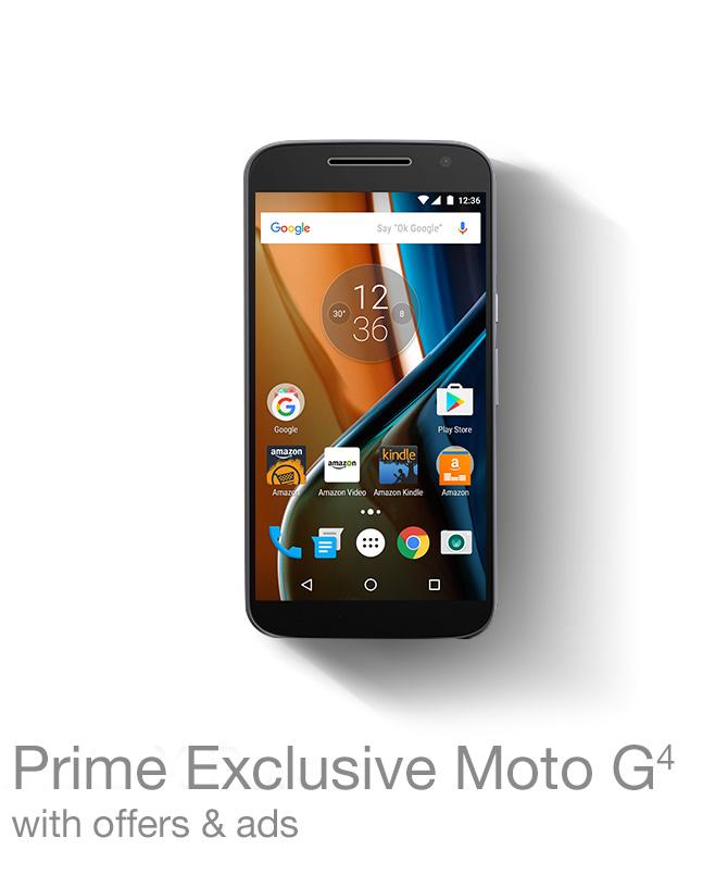 Prime Exclusive Moto G