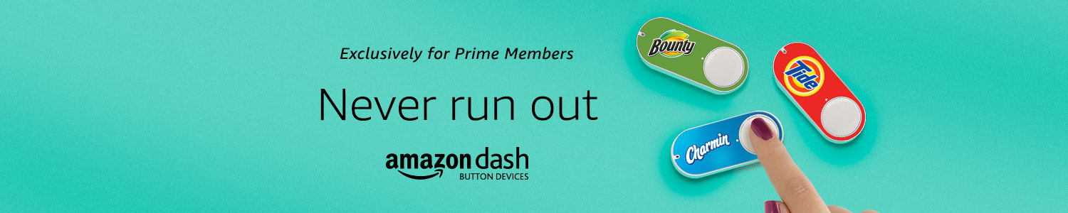 Never run out of your favorite products again. Exclusively for Prime Members