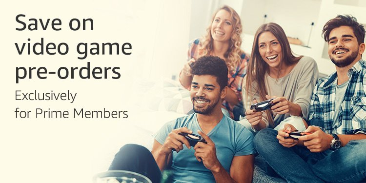 Save on video games with Prime