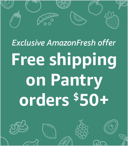 Free Shipping on Pantry orders $50+