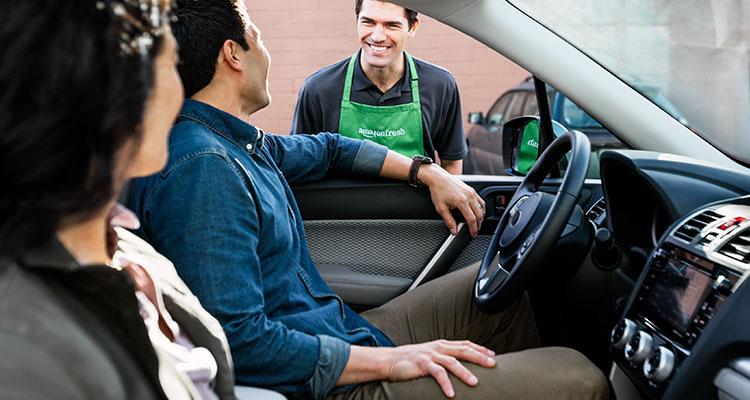 In-car-greeting