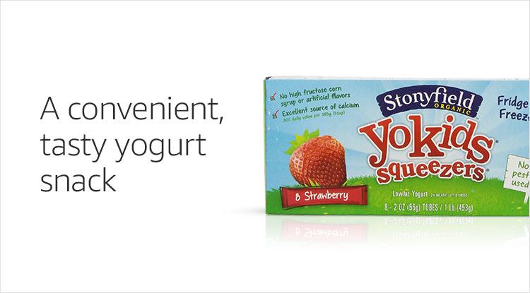 A convenient tasty yogurt snack