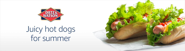 Dietz & Watson hot dogs for summer