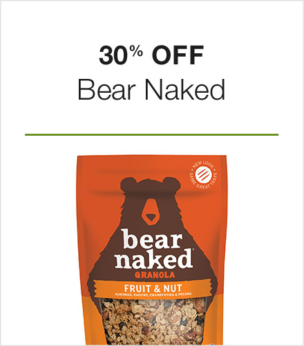 30% off Bear Naked