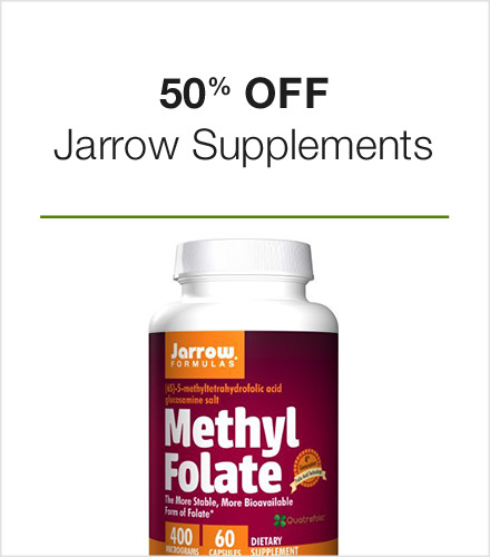 50% off Jarrow Supplements