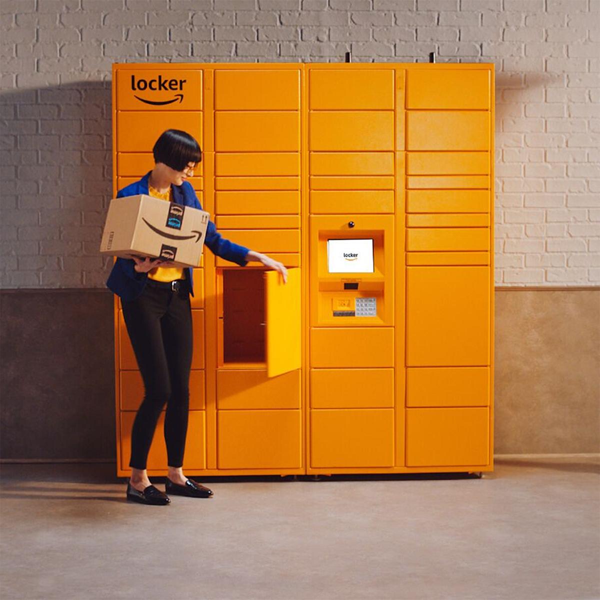 Amazon pickup locker
