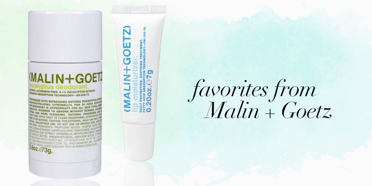 Favorites From Malin + Goetz