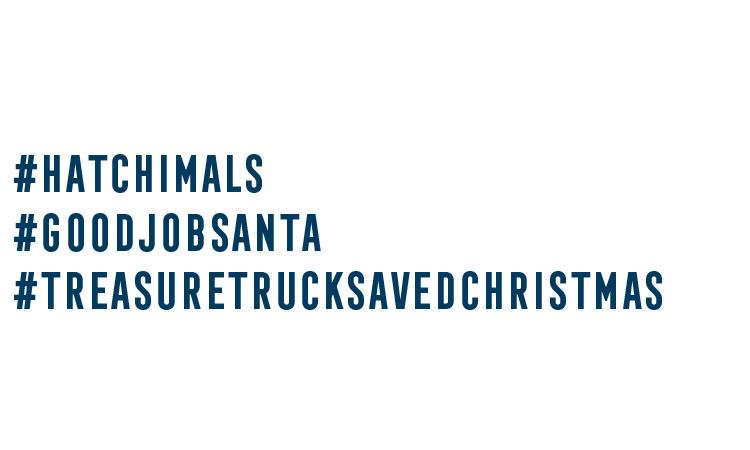 #hatchimals #goodjobsanta #treasuretrucksavedchristmas