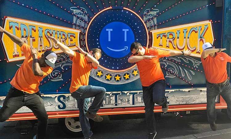Fun at Truck