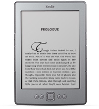 Image of 6 inch Kindle 4