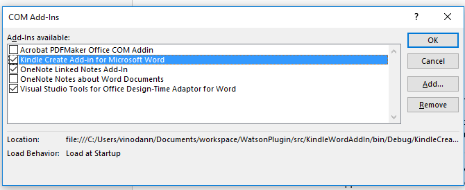 Kindle Create Add In For Microsoft Word Beta Amazon Kindle