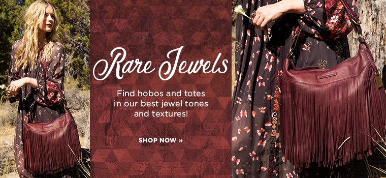 Hero 1- Rare Jewels.2016-10-3. Shop hobos and totes in jewel tones.