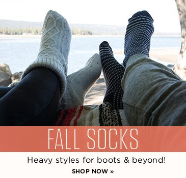 CP-2-Fall Socks. Heavy styles for boots and beyond.Shop now.