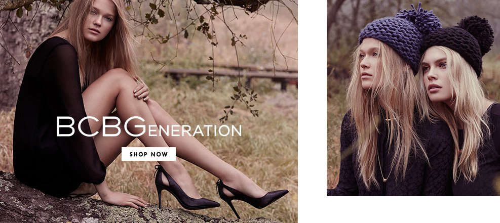 bcbgeneration. Shop Now.