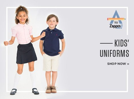 Kids' Uniforms. Shop Now.