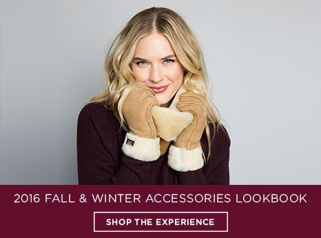 Fall and Winter Accessories Lookbook. Shop the experience.
