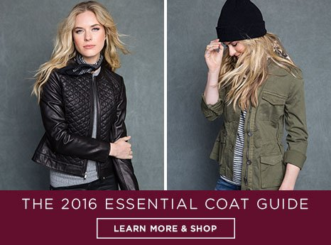 Fashion Coat Guide. Learn more and shop.