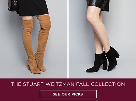 Stuart Weitzman Fall Collection. See our picks.