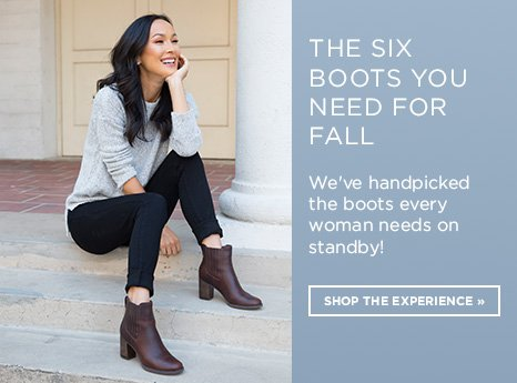 Fall Boot Guide. Shop Now.