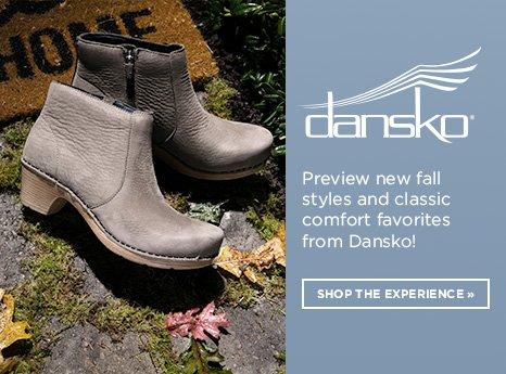 Dansko Lookbook. Shop Now.