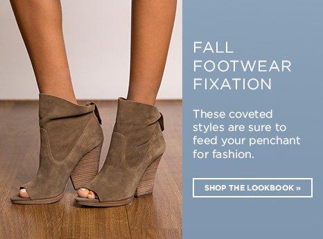 Fall Footwear Fashion. Explore The Lookbook.