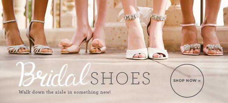 Hero 1 - Bridal Shoes- New Arrivals