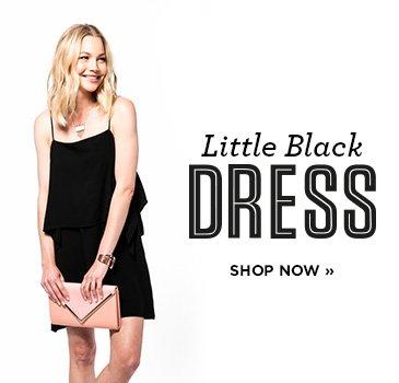 Little Black Dress. Shop Now.