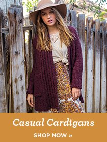 sp 1 -Casual Cardigans