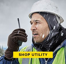cp-3-keen-2016-10-26 Shop Utility. Image of man working in snow with a helmet.
