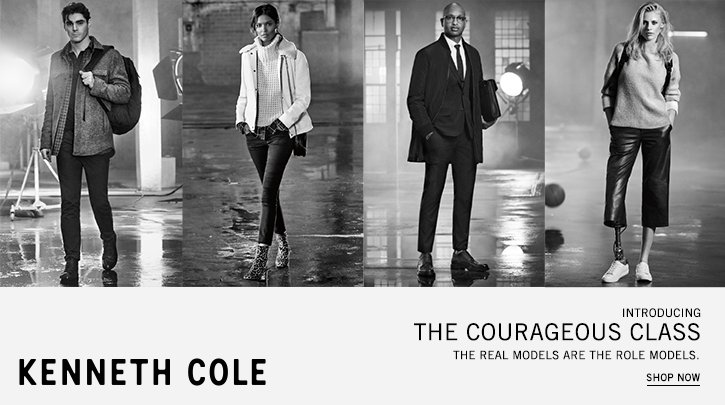 kenneth cole. shop now.