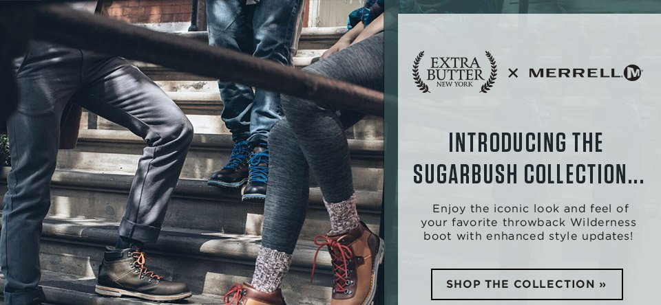 shop the merrell and the sugarbush collection of shoes