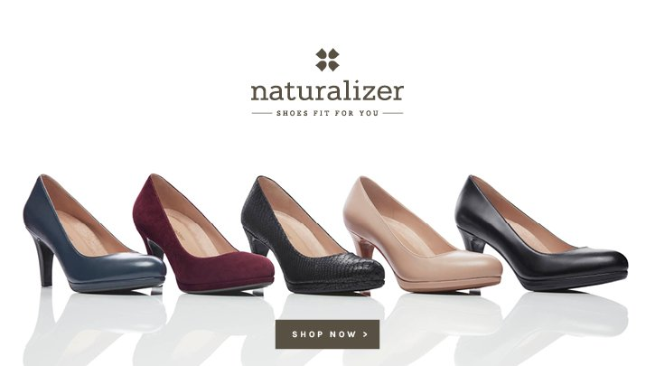 Naturalizer. Shoes Fit For You. Shop now.