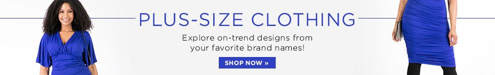 Plus Size Clothing Banner
