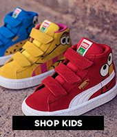 cp-3-kids-2016-10-12 Shop kids. Image of three colorful kids pumas.